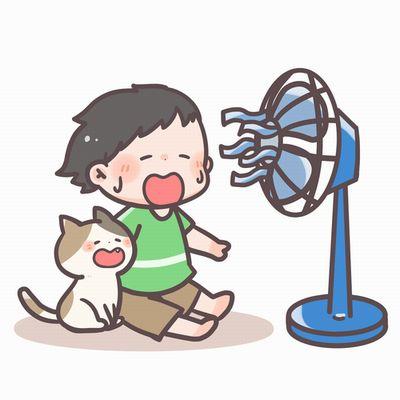 扇風機で手軽に虫除け